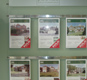 Wall Display, why not maximise your property coverage with wall mounted displays, A3 or A4 pockets can be hung on this system