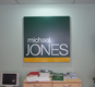 Aluminium panels sprayedto any ral colour make this ideal for corporate signage.